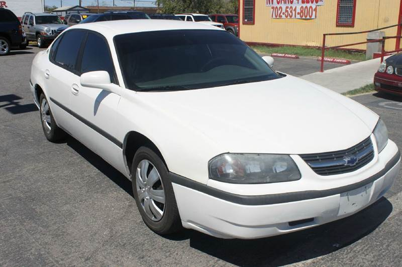 Used Cars in Las Vegas 2003 Chevrolet Impala