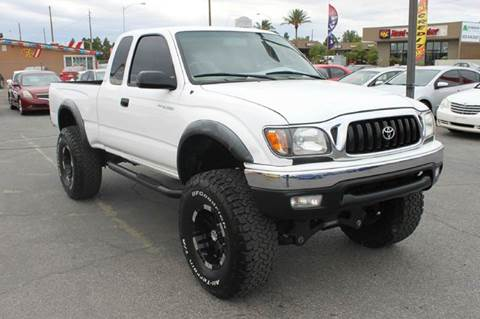 2002 Toyota Tacoma for sale at NV Cars 4 Less, Inc. in Las Vegas NV