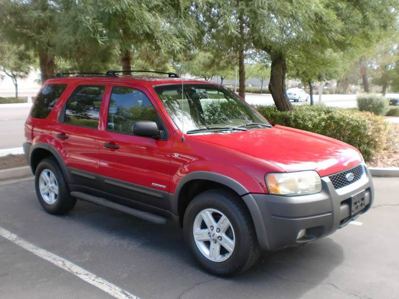Used Cars in Las Vegas 2002 Ford Escape