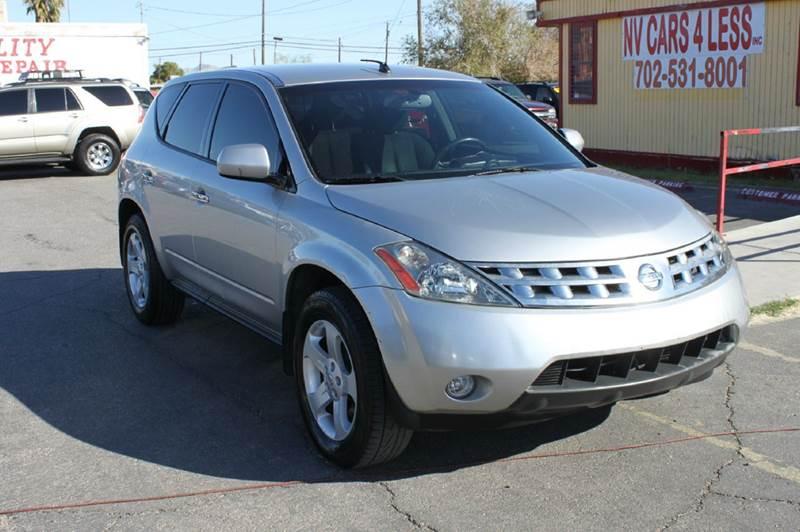 Used Cars in Las Vegas 2004 Nissan Murano