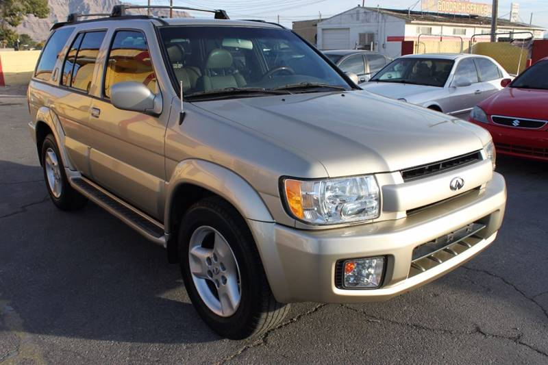 Used Cars in Las Vegas 2001 Infiniti QX4