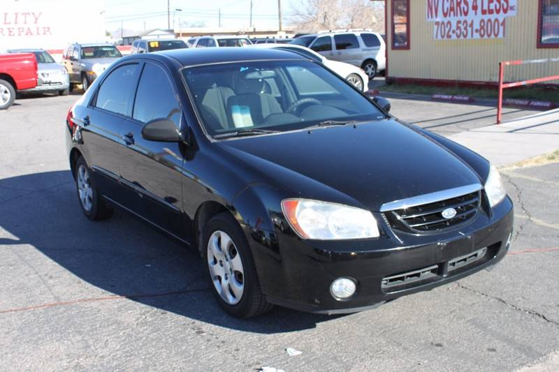 Used Cars in Las Vegas 2005 Kia Spectra