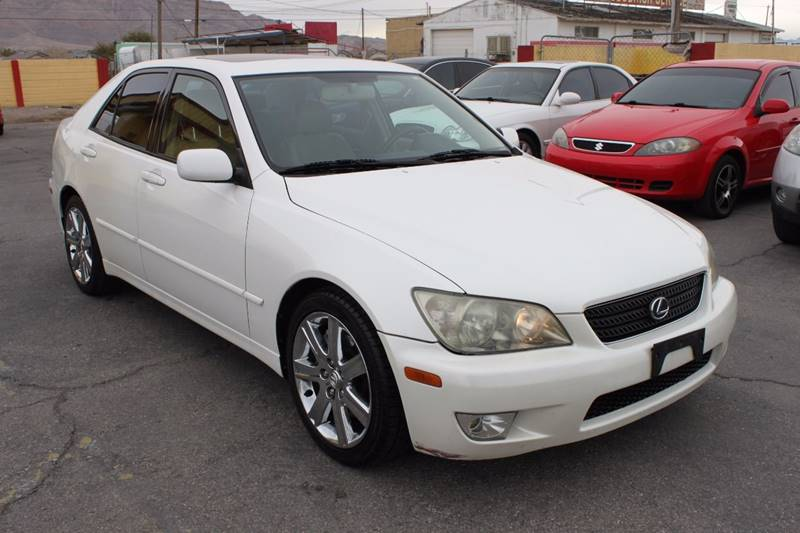 Used Cars in Las Vegas 2002 Lexus IS 300