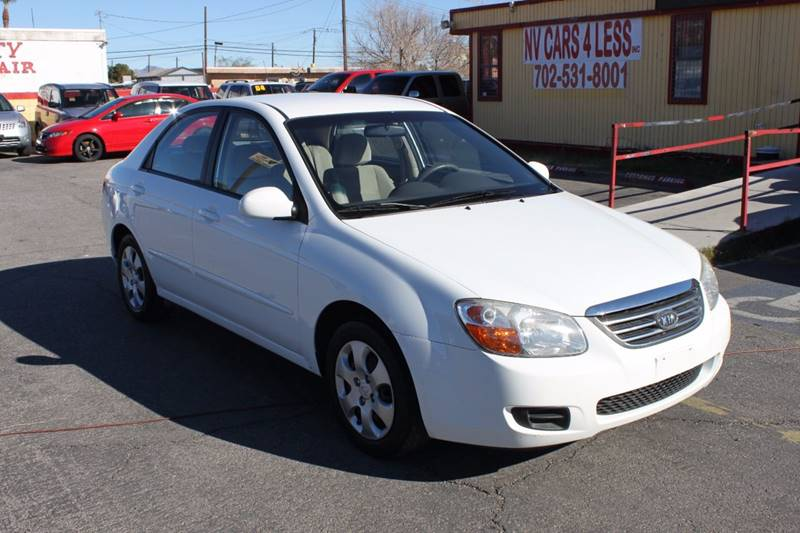 Used Cars in Las Vegas 2008 Kia Spectra