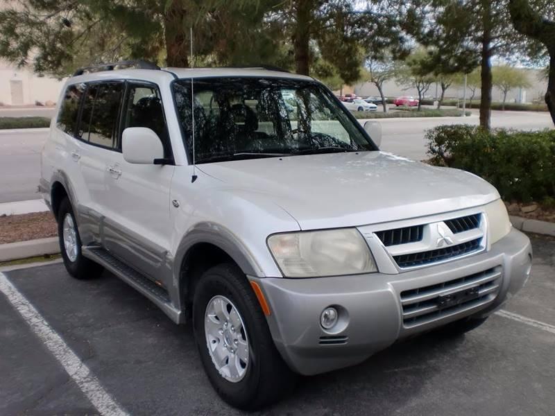 Used Cars in Las Vegas 2003 Mitsubishi Montero