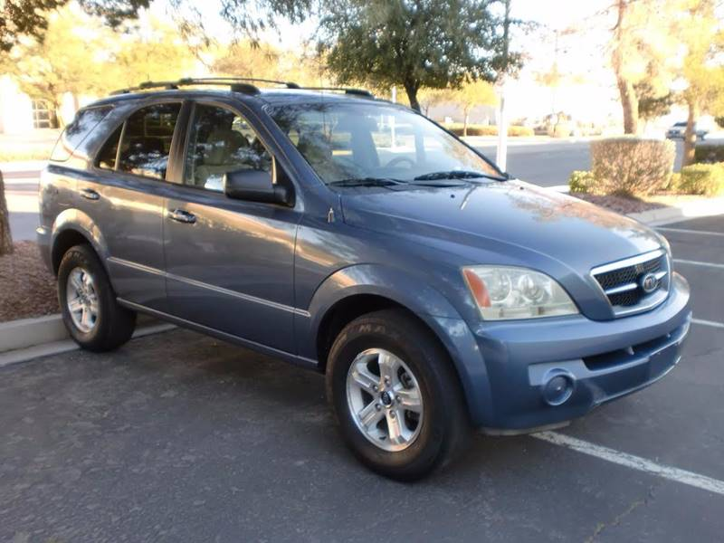 Used Cars in Las Vegas 2003 Kia Sorento