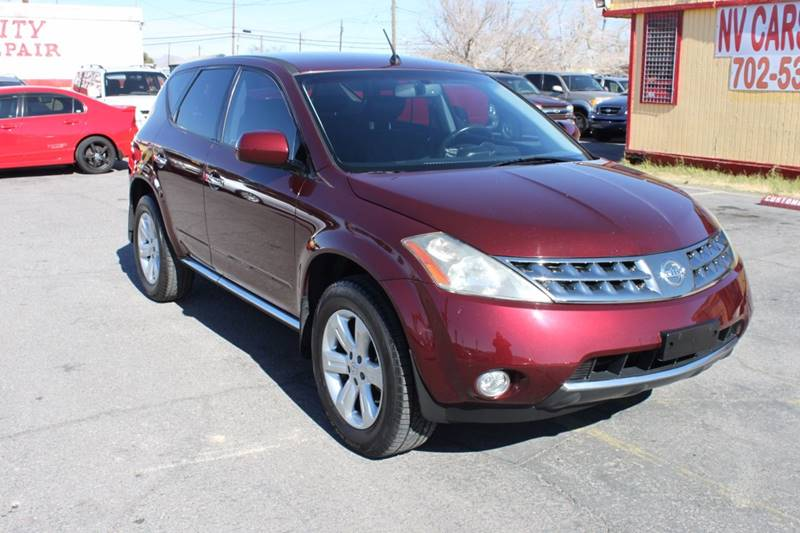 Used Cars in Las Vegas 2007 Nissan Murano
