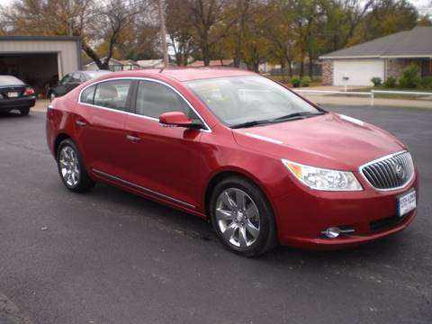 2013 Buick LaCrosse for sale in Hominy, OK