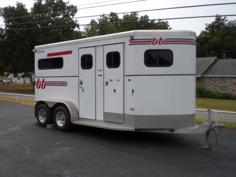 1999 Turnbow 2 Horse Aluminum straight load