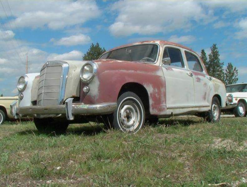 1958 Mercedes-Benz 190-Class for sale at 1 Owner Car Guy in Stevensville MT
