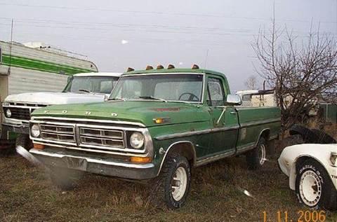 1972 Ford E-100 for sale at 1 Owner Car Guy in Stevensville MT