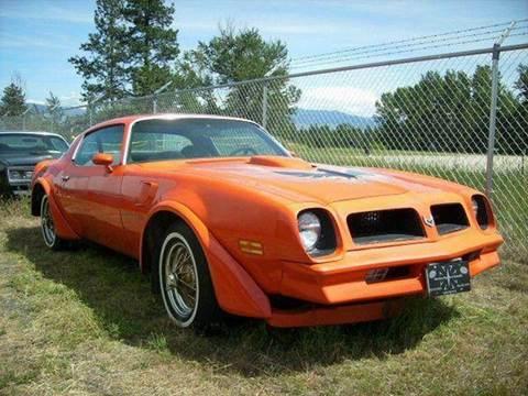 1976 Pontiac Trans Am for sale at 1 Owner Car Guy in Stevensville MT