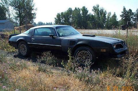 1977 Pontiac Trans Am for sale at 1 Owner Car Guy in Stevensville MT
