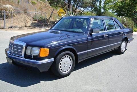 1990 Mercedes-Benz 420-Class for sale at 1 Owner Car Guy in Stevensville MT
