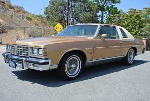 1977 Pontiac Bonneville for sale at 1 Owner Car Guy in Stevensville MT