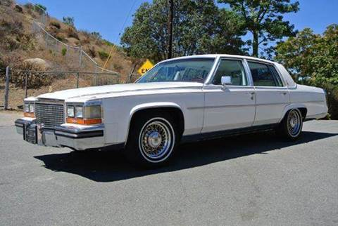 1988 Cadillac Brougham for sale at 1 Owner Car Guy in Stevensville MT