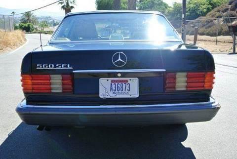 1990 Mercedes-Benz 560-Class for sale at 1 Owner Car Guy in Stevensville MT