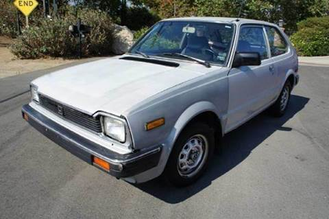 1982 Honda Civic for sale at 1 Owner Car Guy in Stevensville MT