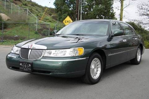 1998 Lincoln Town Car for sale at 1 Owner Car Guy in Stevensville MT