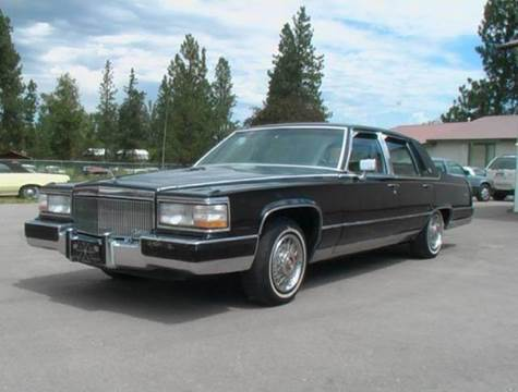 1991 Cadillac Brougham for sale at 1 Owner Car Guy in Stevensville MT