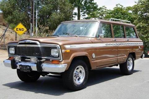 1979 Jeep Cherokee for sale at 1 Owner Car Guy in Stevensville MT