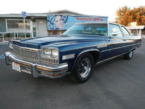 1975 Buick Electra for sale at 1 Owner Car Guy in Stevensville MT