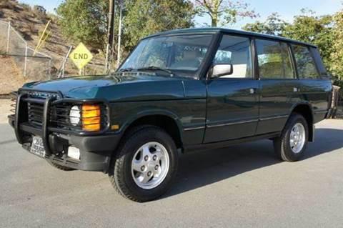 1995 Land Rover Range Rover for sale at 1 Owner Car Guy in Stevensville MT