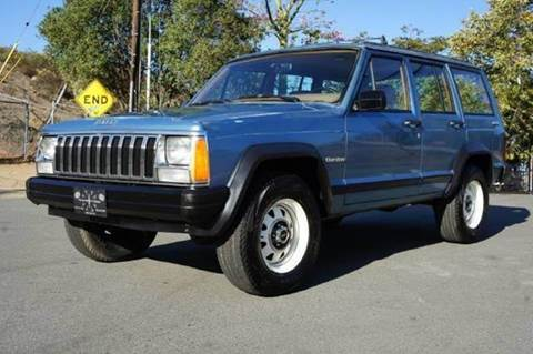 1986 Jeep Cherokee for sale at 1 Owner Car Guy in Stevensville MT