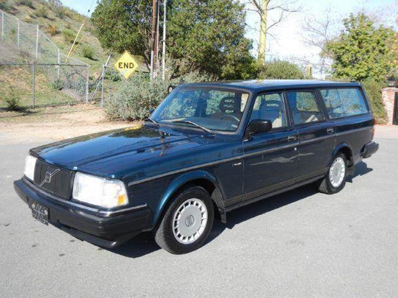 1992 Volvo 240 for sale at 1 Owner Car Guy in Stevensville MT
