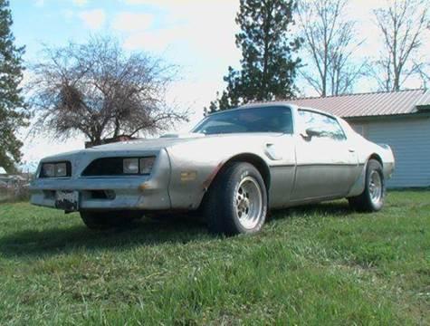 1978 Pontiac Trans Am for sale at 1 Owner Car Guy in Stevensville MT