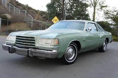 1978 Dodge Magnum for sale at 1 Owner Car Guy in Stevensville MT