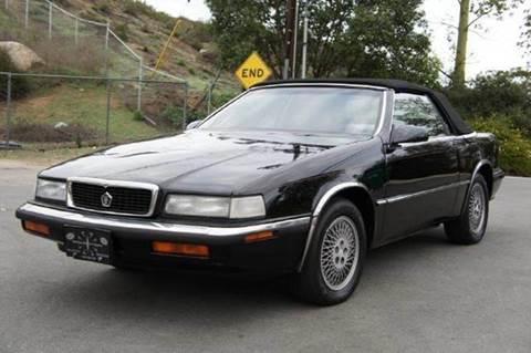 1991 Chrysler TC for sale at 1 Owner Car Guy in Stevensville MT