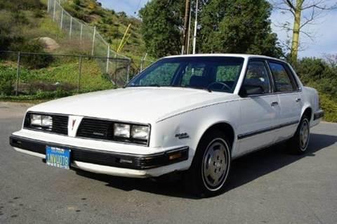1985 Pontiac 6000 for sale at 1 Owner Car Guy in Stevensville MT