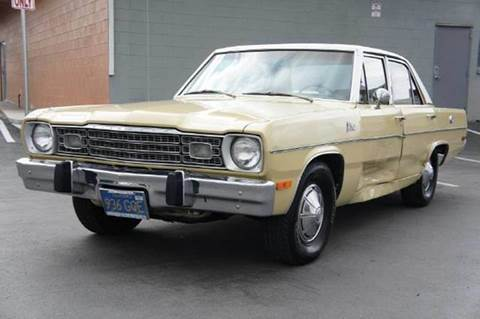 1973 Plymouth Valiant for sale at 1 Owner Car Guy in Stevensville MT