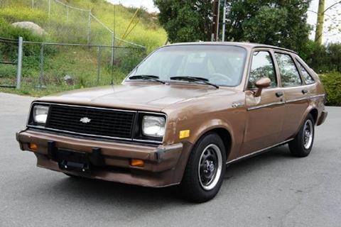 1985 Chevrolet Chevette for sale at 1 Owner Car Guy in Stevensville MT