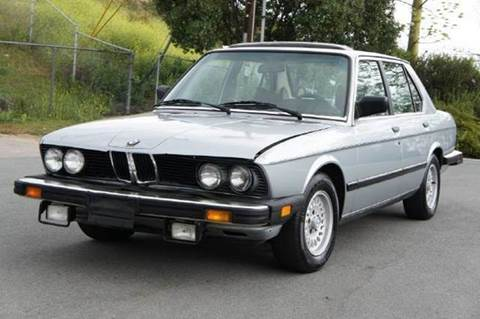 1984 BMW 5 Series for sale at 1 Owner Car Guy in Stevensville MT