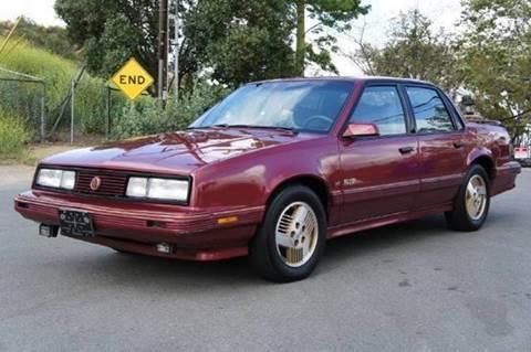 1989 Pontiac 6000 for sale at 1 Owner Car Guy in Stevensville MT