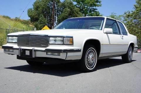 1987 Cadillac DeVille for sale at 1 Owner Car Guy in Stevensville MT