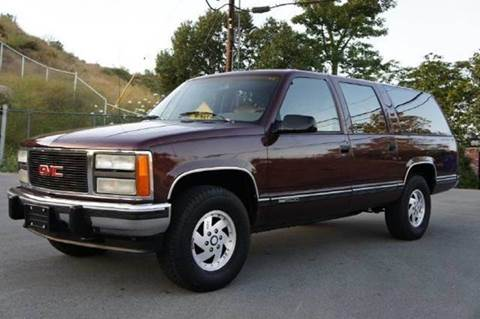 1992 GMC Suburban for sale at 1 Owner Car Guy in Stevensville MT