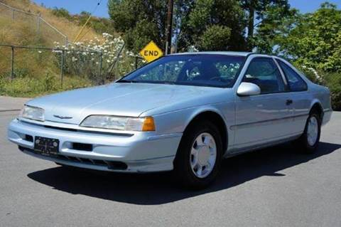 1993 Ford Thunderbird for sale at 1 Owner Car Guy in Stevensville MT