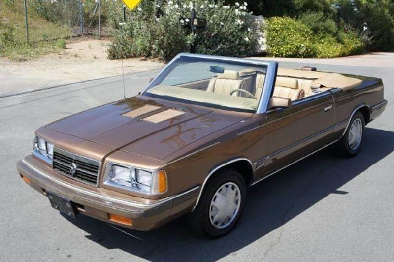 1986 Dodge 600 for sale at 1 Owner Car Guy in Stevensville MT