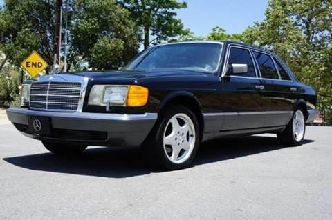 1991 Mercedes-Benz 420-Class for sale at 1 Owner Car Guy in Stevensville MT