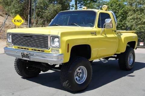 1975 Chevrolet C/K 10 Series for sale at 1 Owner Car Guy in Stevensville MT