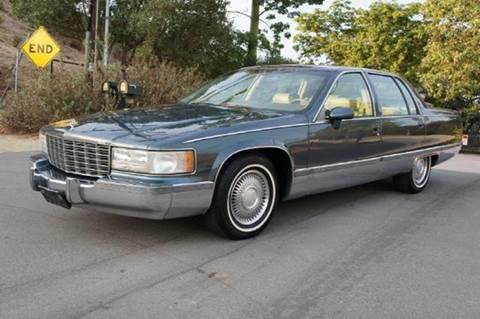 1994 Cadillac Fleetwood for sale at 1 Owner Car Guy in Stevensville MT