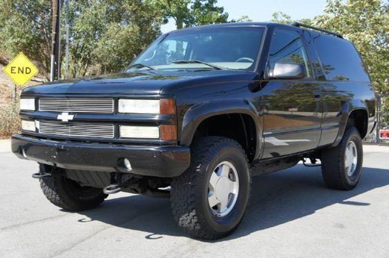 1999 Chevrolet Tahoe for sale at 1 Owner Car Guy in Stevensville MT