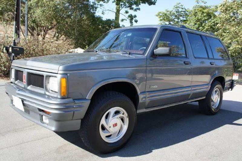 1991 Oldsmobile Bravada for sale at 1 Owner Car Guy in Stevensville MT