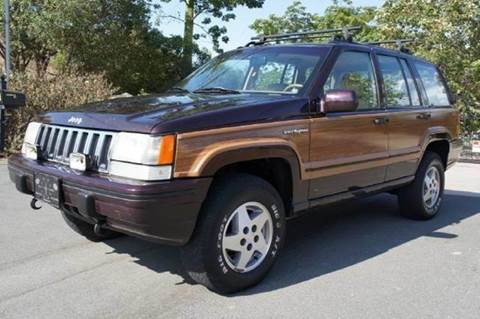 1993 Jeep Grand Cherokee for sale at 1 Owner Car Guy in Stevensville MT