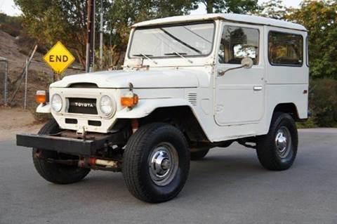 1976 Toyota Land Cruiser for sale at 1 Owner Car Guy in Stevensville MT