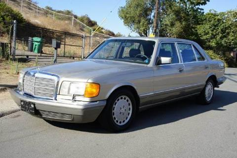 1986 Mercedes-Benz 420-Class for sale at 1 Owner Car Guy in Stevensville MT