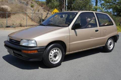 1990 Daihatsu Charade for sale at 1 Owner Car Guy in Stevensville MT